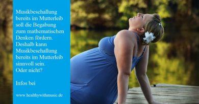 Musikbeschallung – Konzert im Mutterleib-
