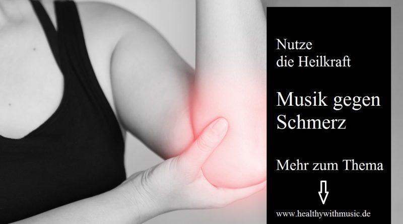 Die Heilkraft der Musik gegen Schmerz