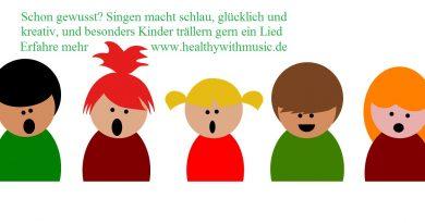 Singen macht schlau, glücklich und kreativ