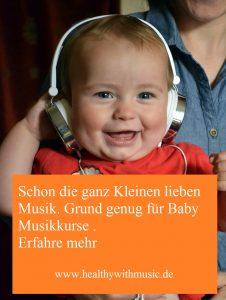 Musikkurse für Babys - Let´s dance