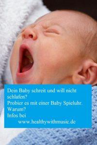 Baby Spieluhr für Babys Wohlgefühl